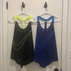 Nike workout tanks - size M